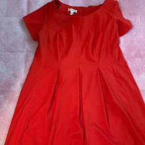 Dress Barn Red Skater Dress